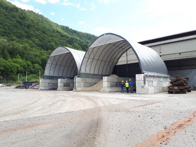 Plantas mezcladoras de asfalto - Francia - WINOA